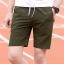 กางเกงขาสั้นแฟชั่นเกาหลี CAMO Dark Green thumbnail 1