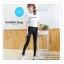 LG044 กางเกงสกินนี้ขายาว ทรงสวย เข้ารูป เนื้อผ้ายืดหยุ่น มี 2 สี สีขาว สีดำ thumbnail 2