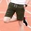 กางเกงขาสั้นแฟชั่นเกาหลี CAMO Dark Green thumbnail 2