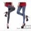 LG026 กางเกงเลคกิ้ง ลายยีนส์ ขายาว เข้ารูป สวยเท่ห์ มีหลายลายให้เลือกคะ thumbnail 3