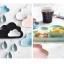 Pre-Order จาน ถ้วยเซรามิคลายเมฆ พร้อมเม็ดฝน มี 5 สี thumbnail 7