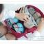 GB099 กระเป๋าใส่ชุดชั้นใน กางเกงใน ถุงเท้า ผ้าขนหนู ผ้าอ้อม ของใช้จุกจิกทั่วไป มี 4 สี ชมพู ฟ้า เทา เขียว พร้อมหูหิว งานคุณภาพ thumbnail 10