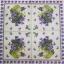 แนวภาพดอกไม้ เป็นกระถางดอกไม้โทนภาพสีม่วง บนพื้นขาว เป็นภาพ 4 บล๊อค กระดาษแนพกิ้นสำหรับทำงาน เดคูพาจ Decoupage Paper Napkins ขนาด 33X33cm thumbnail 2