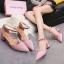 รองเท้า แฟชั่น ส้นสูง สายคล้อง สไตล์เกาหลี J005 thumbnail 4