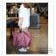 GB228 กระเป๋าผ้าเดินทาง จัดเก็บสิ่งของ ใบใหญ่ พับเก็บได้ พกพาสะดวก ดีไซน์สวย เรียบหรู ใส่ของเอนกประสงค์ ขนาด กว้าง 48 x สูง 38 x หนา 20.5 cm. thumbnail 9