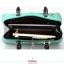 กระเป๋าถือขนาดพกพาสไตล์เกาหลี-เขียว thumbnail 8