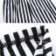 LG010 กางเกงเลคกิ้งขายาว ลายทางขาวดำ สวยเปรี้ยว thumbnail 11
