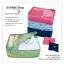GB038 กระเป๋าผ้า จัดระเบียบกระเป๋าเดินทาง ใส่เสื้อผ้า ผ้าเช็ดตัว ผ้าขนหนู ของใช้ สามารถพับเก็บได้ สำหรับพกพาเดินทางท่องเที่ยว thumbnail 1