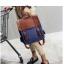 กระเป๋าเป้สะพาย หนัง ผสมผ้า Macarons thumbnail 8