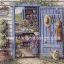 กระดาษสาพิมพ์ลาย rice paper สำหรับทำงาน handmade เดคูพาจ Decoupage แนวภาพ บ้านและสวน ห้องเก็บอุปกรณ์เพาะชำดอกไม้ สวนสวย (ปลาดาว ดีไซน์) thumbnail 1