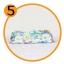 GH134 ถุงสูญญากาศ แบบใส พิมพ์ลาย มีก้นขยายได้ สำหรับเก็บเสื้อผ้ากันฝุ่น กันเปื้อน ประหยัดพื้นที่จัดเก็บ มีซิบล็อก 2 ชั้น เนื้อเหนียว มีหลายขนาดให้เลือก ราคาไม่แพง สามารถเลื่อนลงไปเลือกขนาด และดูรายละเอียดต่างๆด้านล่างคะ thumbnail 10