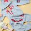เสื้อผ้าเด็ก ชุดเช็ต เสื้อแขนยาวมีฮูทเห่ห์ๆ + กางเกงขายาว สไตล์เกาหลี thumbnail 4