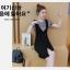 กระโปรงชุดสูทแฟชั่น 2 ชิ้น สไตล์เกาหลี -ดำลาย thumbnail 8