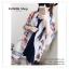 PR037 ผ้าพันคอแฟชั่น ผ้าคลุมไหล่ พิมพ์ลยสวยขนาด กว้าง 110 ยาว 180 cm. thumbnail 5