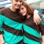เสื้อคู่ชาย+หญิง น้ำตาลเขียว thumbnail 1