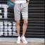 กางเกงขาสั้นแฟชั่นเกาหลี ลายทาง : สีเทา thumbnail 2