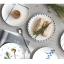 Pre-Order จานข้าวเซรามิค สไตล์ Nordic สีฟ้าขาว มี 5 ลาย thumbnail 10