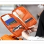 GB121 กระเป๋าใส่พาสปอร์ต กระเป๋าถือ ใส่เงิน นามบัตร บัตรATM มือถือ ใส่ของจุกจิก เอกสารต่างๆ ขนาดกระทัดรัด พกพาสะดวก ซิบเปิด-ปิด มีช่องจัดเก็บหลายช่อง ผ้าหนาอย่างดี งานสวย คุณภาพ thumbnail 16