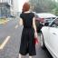 ชุดเดรสกางเกงทรงกระโปรงคู่เสื้อ แฟชั่น เกาหลี thumbnail 10