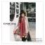 PR075 ผ้าพันคอแฟชั่น ผ้าขนสัตร์(เทียม) พิมพ์ลายสวย หนานุ่ม อย่างดี งานสวยคะ ขนาด กว้าง 65 ยาว 190 cm. thumbnail 2