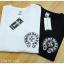 หมดค่ะ:Chrome Heart Logo Printed T-Shirt เสื้อยืดแขนสั้นchrome hearts ด้านหน้ามีกระเป๋าพิมพ์ลายโลโก้ ด้านหลังสกรีนอย่างดีเต็มหลังสวยมากค่ะ เนื้อผ้าคอตตอนเนื้อดี เนื้อไม่หนานะคะ มาพร้อมป้ายค่ะ thumbnail 1