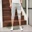 กางเกงขาสั้น3ส่วน JOGGER GREY/WHITE STRIPED thumbnail 2