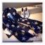 PR077 ผ้าพันคอแฟชั่น ผ้าขนสัตร์(เทียม) พิมพ์ลายสวย หนานุ่ม อย่างดี งานสวยคะ ขนาด กว้าง 60 ยาว 200 cm. thumbnail 10