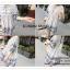 VS019 ชุดเดรสสั้น สีขาว ผ้าลายขวางสีกรมท่า คอกลม แขนสามส่วน ผ้าฝ้าย ใส่สบายคะ thumbnail 17