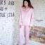 เซ็ตชุดนอนเสื้อแขนยาวและกางเกงขายาวค่ะ ทำจากเนื้อผ้าซิลค์ซาติน ผ้านุ่มลื่น เป็นผ้านำเข้าค่ะ ใส่สบาย ตัวเสื้อกรีนคำว่า sweet ตรงกระเป๋าเสื้อ มาพร้อมผ้าปิดตา สกรีนคำว่า Dream น่ารักมากค่ะ thumbnail 8
