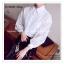 VS042 เสื้อเชิ้ต สีขาว ผ้าลูกไม้ มีซับใน คอปก กระดุมผ่าหน้า งานสวยคะ thumbnail 4