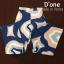 หมดค่ะ:เสื้อ+กางเกงขายาว kloset แบบคุณชมพู่ค่ะ งานสวยตามแบบ จัดมาเป็นเซ็ตในโทนสีน้ำเงิน มีสกรีนลายดอกทิวลิปช่วงกลางอก แขน 4 ส่วน สวยๆใส่ออกงาน ใส่ทำงานได้ค่ะ thumbnail 5