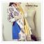 PR099 ผ้าพันคอแฟชั่น ผ้าหนานุ่ม ช่วงปลายประดับด้วยริ้ว อย่างดี งานสวยคะ ขนาด กว้าง 60 ยาว190 cm. thumbnail 8