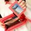 กระเป๋าสตางค์แบบยาว ใส่มือถือได้ สไตล์เกาหลีน่ารัก มีสายคล้องมือ thumbnail 5