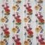 แนวภาพดอกไม้ เป็นช่อดอกป๊อปปี้เป็นสาย บนพื้นสีขาว เป็นภาพเต็ม กระดาษแนพกิ้นสำหรับทำงาน เดคูพาจ Decoupage Paper Napkins ขนาด 33X33cm thumbnail 2
