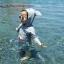 ชุดว่ายน้ำเด็กทารกความสูง 70-120ซม. ลายปลาฉลาม แขนยาว ขายาวถึงเข่า มีฮู้ดเป็นรูปปากฉลามน่ารักมากๆค่ะ thumbnail 2