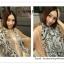 PR049 ผ้าพันคอแฟชั่น ผ้าฝ้าย แบบบาง พิมพ์ลายสวย ขนาด ยาว 170 กว้าง 80 cm. thumbnail 8