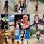 ชุดว่ายน้ำเด็กทารกความสูง 80-120ซม.ลายหงส์สีดำและหงส์สีชมพู เป็นชุดวันพีชแถมหมวกค่ะ thumbnail 3
