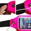 """กระเป๋าแบบคาดเอวแนวสปอร์ตสำหรับใส่มือถือสมาร์โฟนขนาดไม่เกิน 5"""" (สีชมพูสะท้อนแสง) thumbnail 3"""