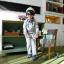 Huanshu kids ชุดเซ็ทเด็ก เสื้อแขนยาวคอกลม SUPER 23 JPN + กางเกงขายาว สไตล์เกาหลี thumbnail 1