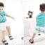 ชุดเซ็ทเด็กชาย มาใหม่ สไตล์เกาหลี เสื้อ+กางเกงสกีนลายม้าลาย แบบเก๋ น่ารัก ผ้า เนื้อนุ่ม ใส่สบาย thumbnail 3