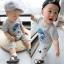 ชุดแฟชั่นเด็ก 2 ชิ้น เสื้อสีเทา สกีนหน้าอก + กางเกง น่ารัก สไตล์เกาหลี(เด็ก 6 เดือน-3ขวบ ค่ะ) ขนาด5 thumbnail 1