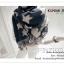 PR077 ผ้าพันคอแฟชั่น ผ้าขนสัตร์(เทียม) พิมพ์ลายสวย หนานุ่ม อย่างดี งานสวยคะ ขนาด กว้าง 60 ยาว 200 cm. thumbnail 3