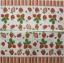 แนวภาพผลไม้ ผลสตอเบอร์รี่ บนขอบลายแต่ง ภาพโทนสีขาวแดง เป็นภาพ 4 บล๊อค กระดาษแนพกิ้นสำหรับทำงาน เดคูพาจ Decoupage Paper Napkins ขนาด 33X33cm thumbnail 2
