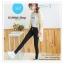 LG044 กางเกงสกินนี้ขายาว ทรงสวย เข้ารูป เนื้อผ้ายืดหยุ่น มี 2 สี สีขาว สีดำ thumbnail 7