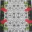 แนวภาพดอกไม้ เป็นช่อดอกกุหลาบบนพื้นหลัง เป็นภาพครึ่งแผ่น กระดาษแนพกิ้นสำหรับทำงาน เดคูพาจ Decoupage Paper Napkins ขนาด 33X33cm thumbnail 2