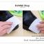 GK189 กระดาษเช็ดทำความสะอาดรองเท้าหนัง ชุบน้ำยาทำความสะอาด 1 แพ็ค มี 10 ชิ้น พกพาไปในที่ต่างๆสะดวก thumbnail 7