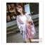 PR115 ผ้าพันคอแฟชั่น ผ้าคลุมไหล ลายสวย เก๋ งานดี ผ้าฝ้าย ขนาด 180*100 ซม. thumbnail 1