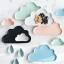 Pre-Order จาน ถ้วยเซรามิคลายเมฆ พร้อมเม็ดฝน มี 5 สี thumbnail 5