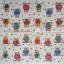 แนวภาพลายการ์ตูน ลายเส้นลงสีนกฮูก หลากสี บนพื้นขาว เป็นภาพ 4 บล๊อค กระดาษแนพกิ้นสำหรับทำงาน เดคูพาจ Decoupage Paper Napkins ขนาด 33X33cm thumbnail 2
