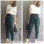 หมดค่ะ:Jessy Pants กางเกงขา 5 ส่วนใส่ทำงานสวยมากค่ะ เอวกลางซิปหน้ากระดุมซ่อน กระเป๋าข้างผ้าหนา ทรงสวย งานตัดเนี๊ยบ ใส่เที่ยว ได้หลายโอกาสเลยค่ะ thumbnail 4